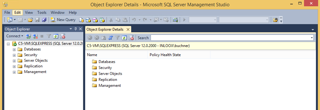 7. Microsoft SQL Server Management Studio