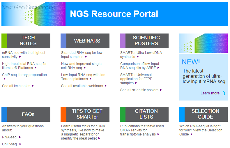 NGS Learning Resources NGS