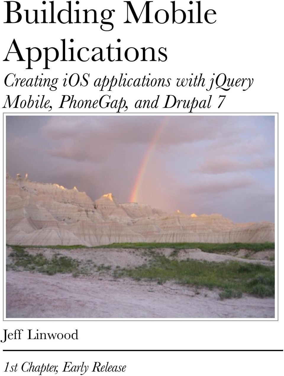 jquery Mobile, PhoneGap, and