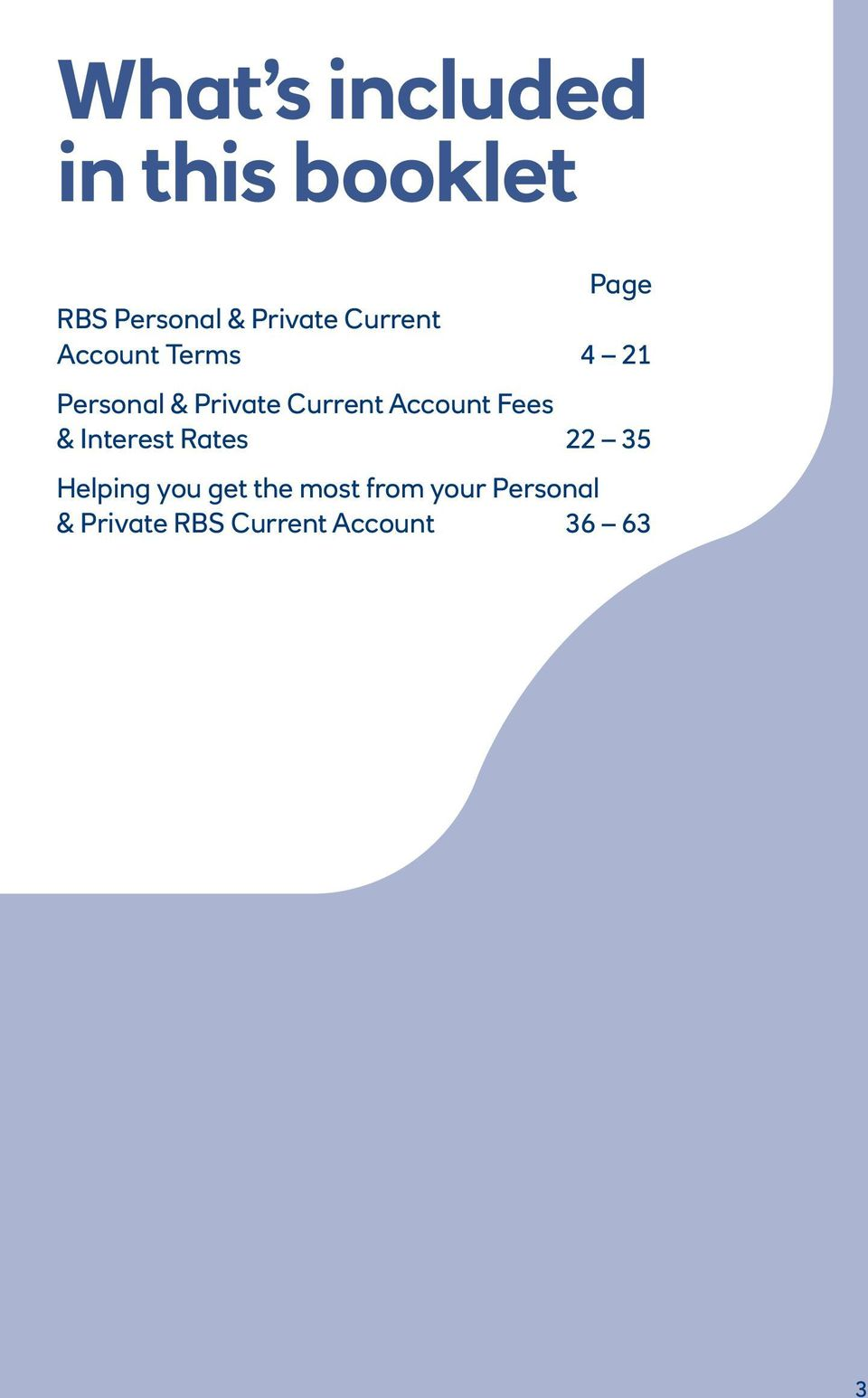 Current Account Fees & Interest Rates 22 35 Helping you