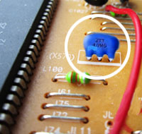 Frequency Control in RF Oscillators Several different types of frequency control networks are used in high frequency sine wave oscillators. Three of the most commonly found are: 1. LC Network, 2.
