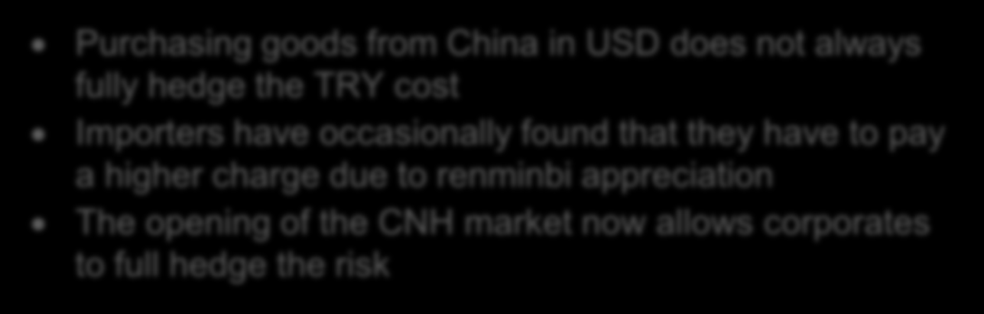 History of US dollar renminbi USD-CNY spot rate 8.50 8.
