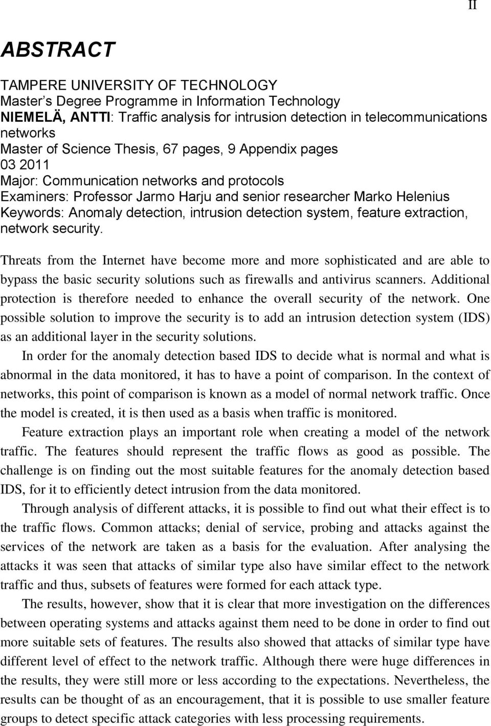 Research paper on network security
