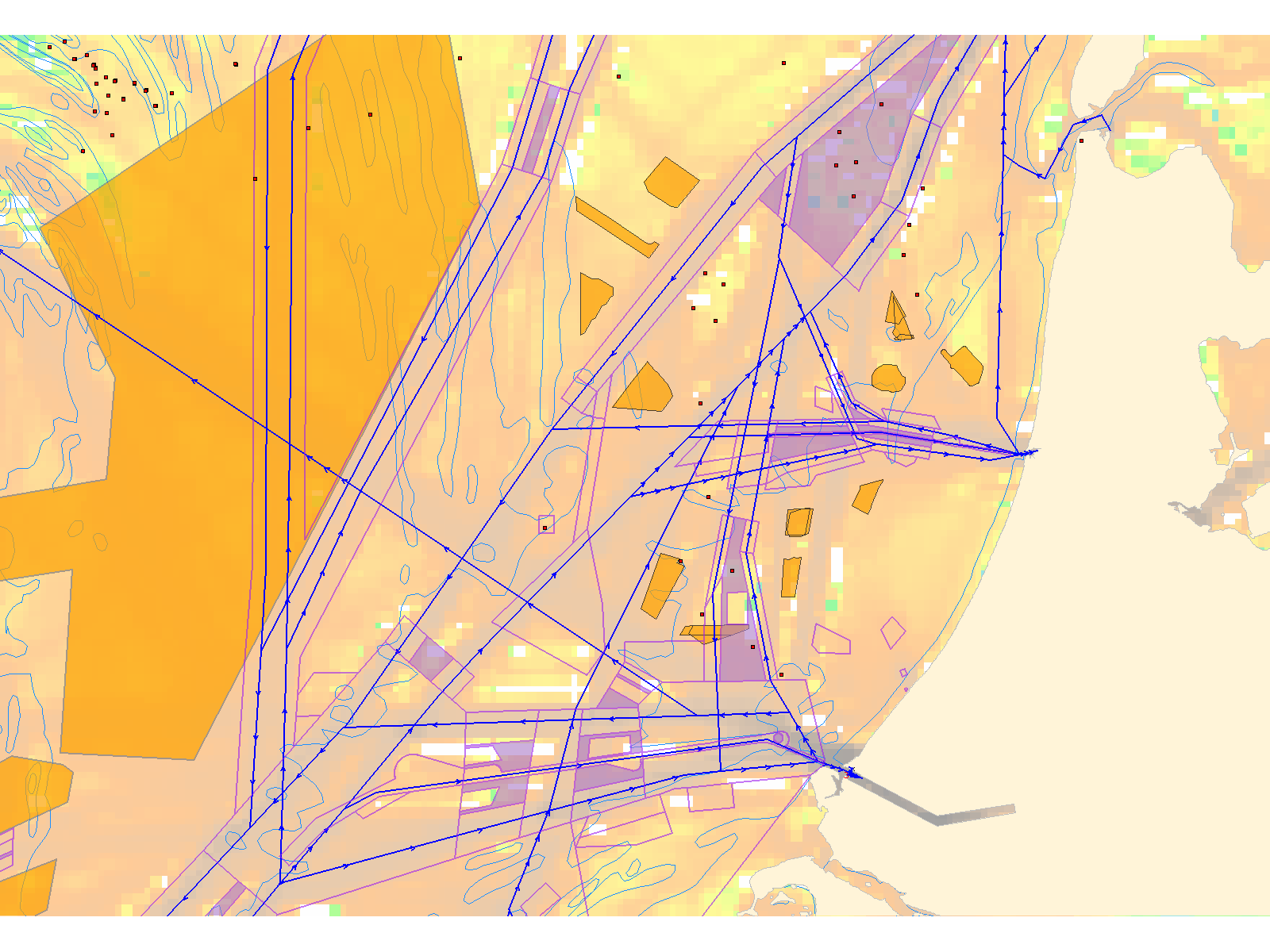 How to arrive at a practical North Sea Region- Route Topology Model (NSR-RTM)?