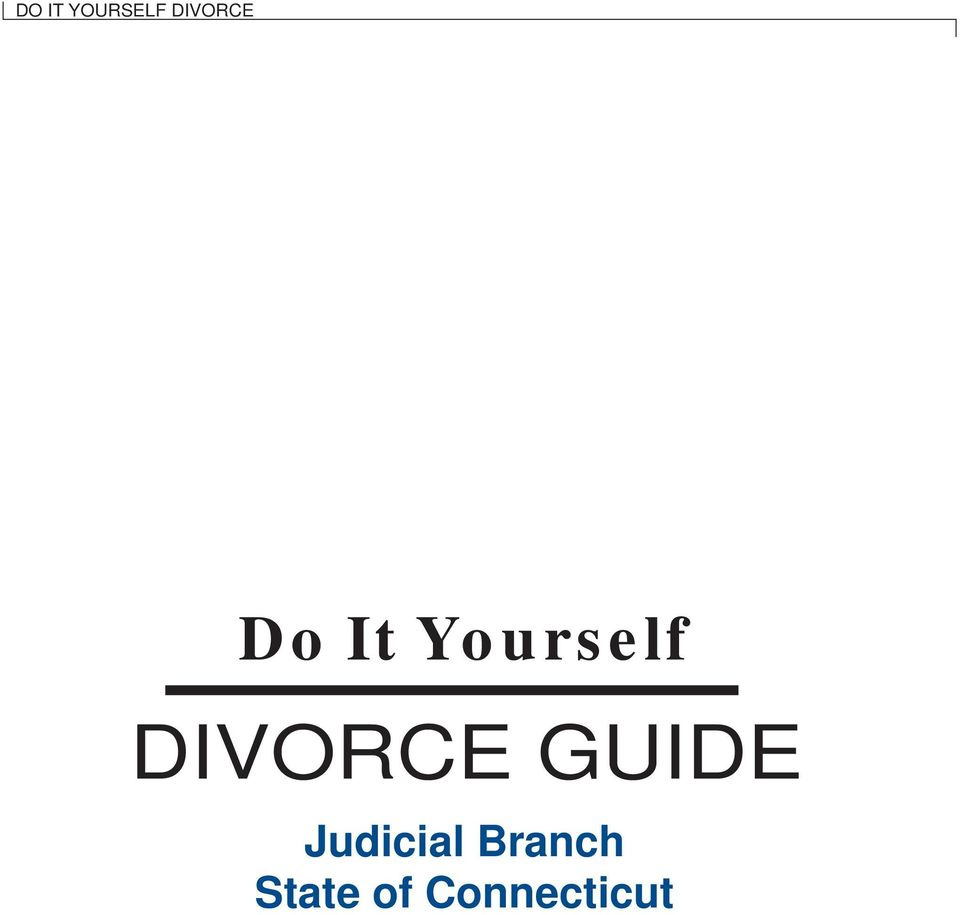 Yourself DIVORCE
