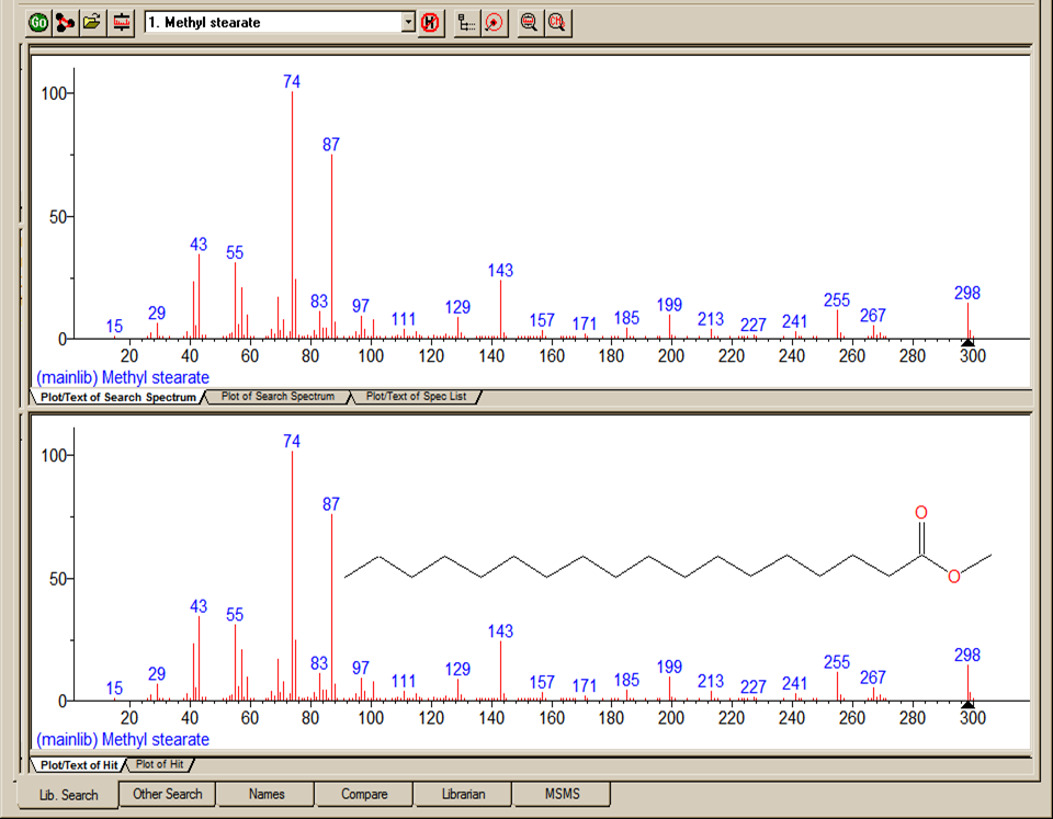 Neutral Loss Display Figure 13. m/z range (for Spectra Display) dialog box.