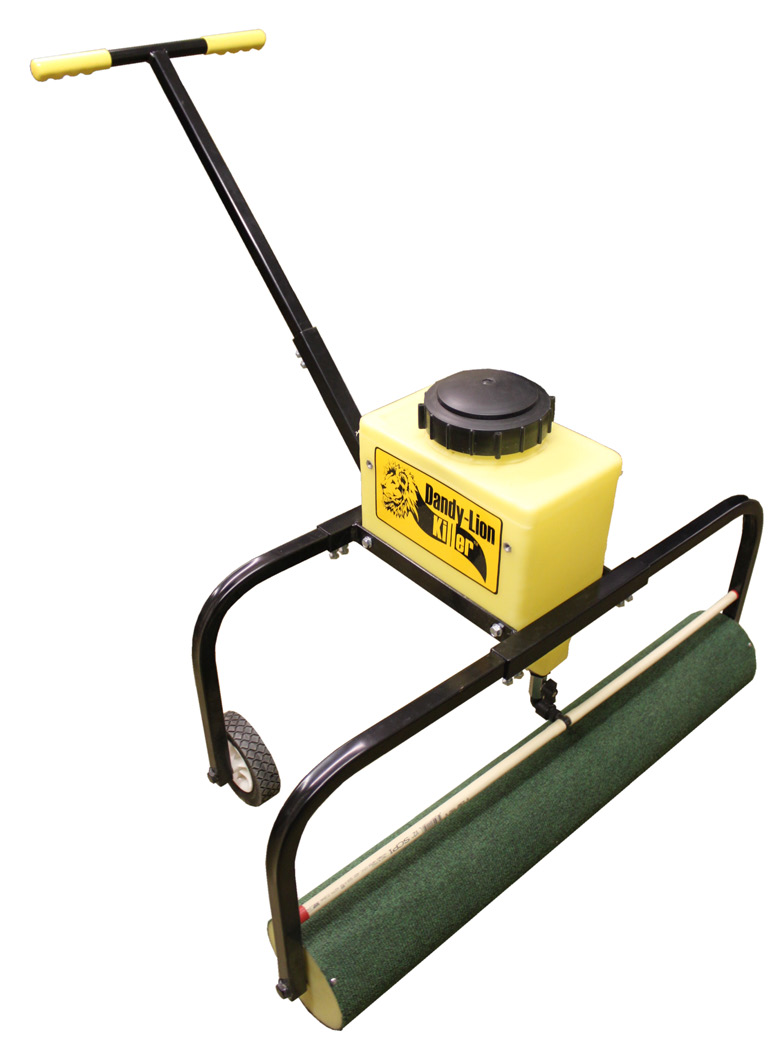 48 Weed Roller (Pull-Type) 12 Gallon Supply Tank No Drift Roller Applicator - Presses the Chemical Directly on the Plants Gravity Fed - No Electronics 6 Vented Lid allows Free Flow of Chemical