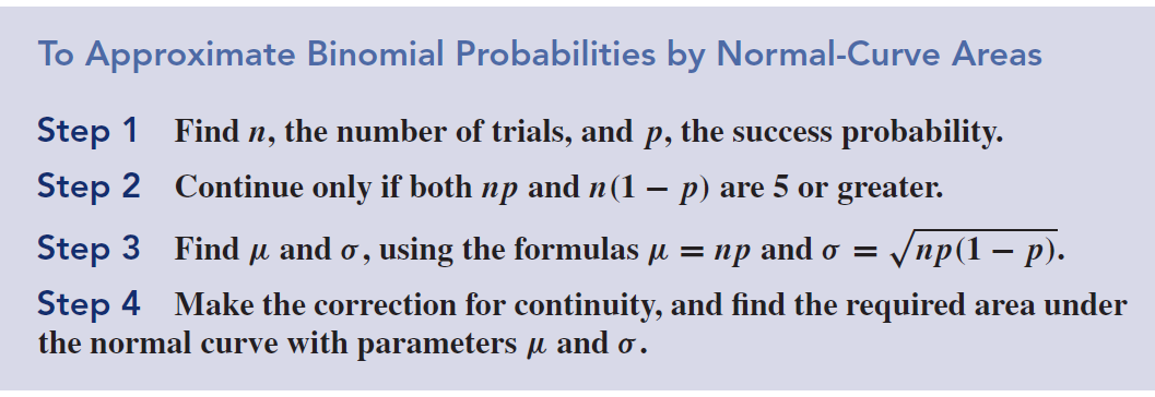 we convert to z-scores and then find the corresponding area under the standard normal curve. We have z 1 = 6.5 5 0.95 and z 2 = 8.5 5 2.22 1.58 1.58 therefore the probability is 0.4868 0.3289 = 0.