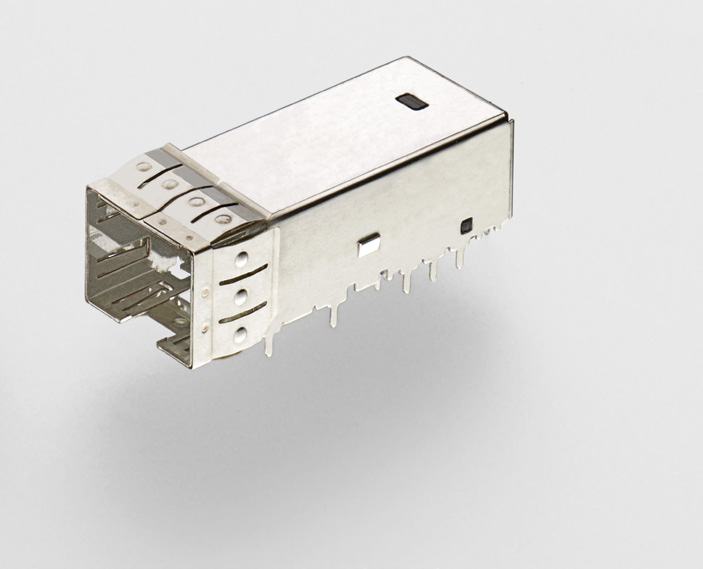 Increased Faceplate Density / Saves PCB Space: Board connector saves approximately 50% more PCB space Connector height fits 15 mm board spacing practice Improved Signal Integrity: Connector designed