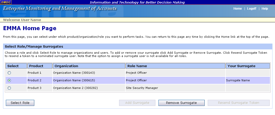 2. Click Remove Surrogate. 3. Confirm that you want to remove the surrogate user. Click OK.