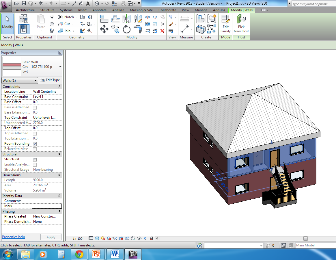 Screen shot of BIM