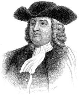 The Founding of Pennsylvania founded by William Penn in 1681.
