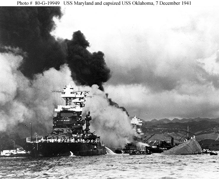 Day of Infamy December 7, 1941- Surprise attack at Pearl Harbor 19 ships destroyed or sunk 8