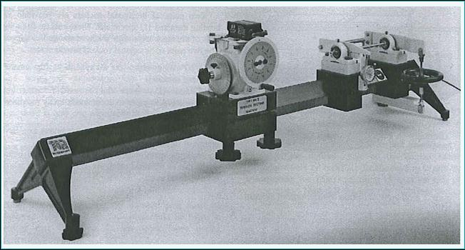 Figure 2: Torsion testing machine [2].