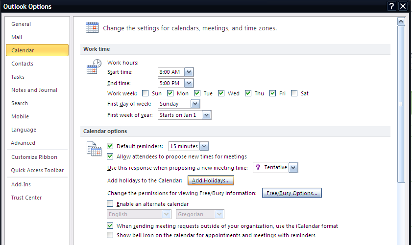 Quick notes Click on the check boxes next to the calendar name or group to enable or disable calendars displaying at the same time in Outlook Calendar Depend on how many calendars showing at the same
