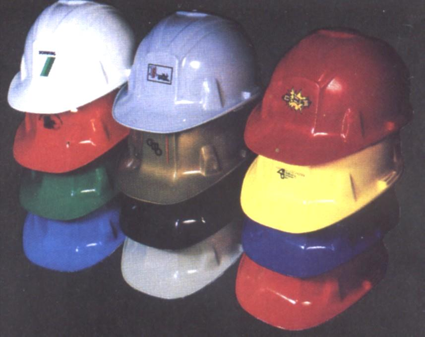 Head Protection Hard Hat or Safety Helmet A rigid device that is worn to