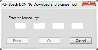 DCN-NG Download and License Tool Configuration and operation en 37 4.7 Enter License Key The Enter License Key function is used to license the CCU in combination with PC control and open interface.