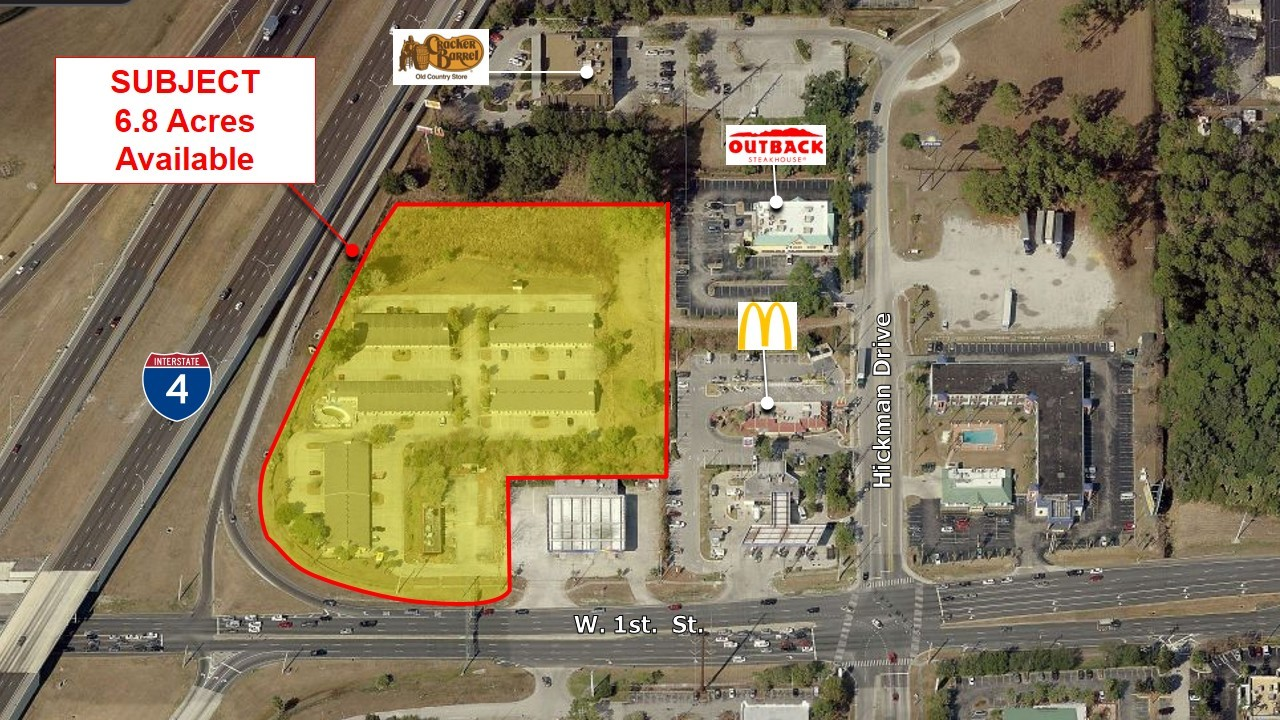 For Ground Lease Elevation Development presents: I-4 Interchange Redevelopment, Sanford, FL 4750 SR 46 Sanford, FL 32771 Lease Overview Available SF: 43,560-355,597 SF Lease Rate: Negotiable Lot