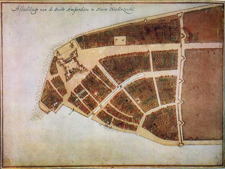 New Amsterdam, 1660 Characteristics of New Amsterdam: Aristocratic patroonships [feudal estates granted to