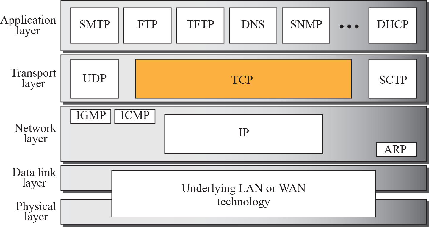 TCP Services Process-to-Process
