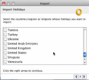A list of countries and major religions will appear, click on which country and or