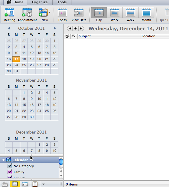 Introduce Calendar The Calendar feature allows you to create appointments and organize