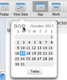 Navigate Calendar From the Ribbon, go to Home tab and do any of the following: To go back to today