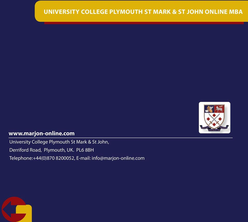 com University College Plymouth St Mark & St John,