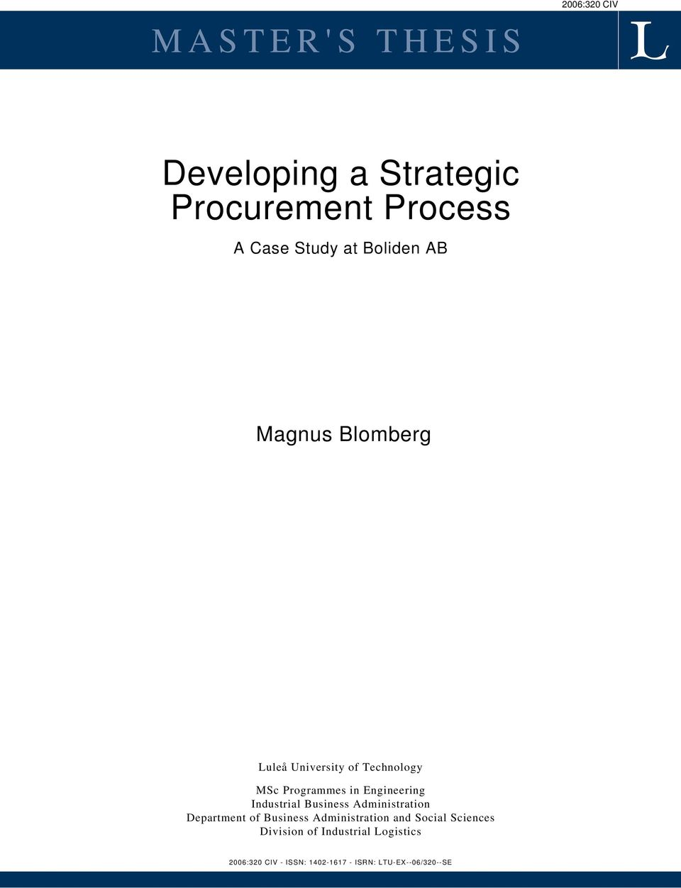 thesis on procurement practices Embedding sustainability in the sourcing and procurement process  implementing sustainable procurement practices can generate additional revenue through premium brand.