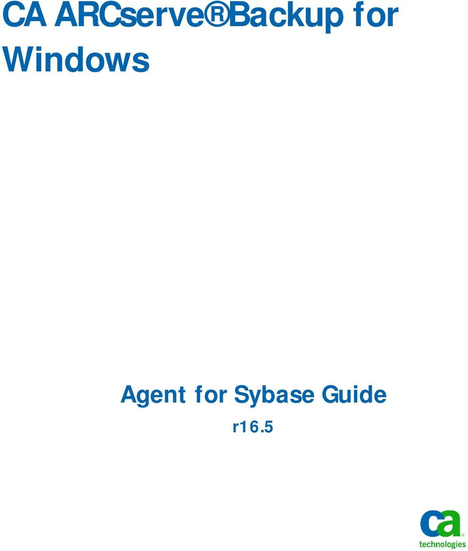 Windows Agent