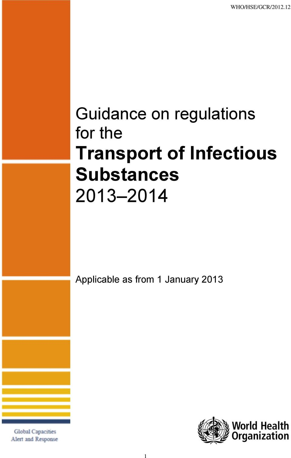 the Transport of Infectious