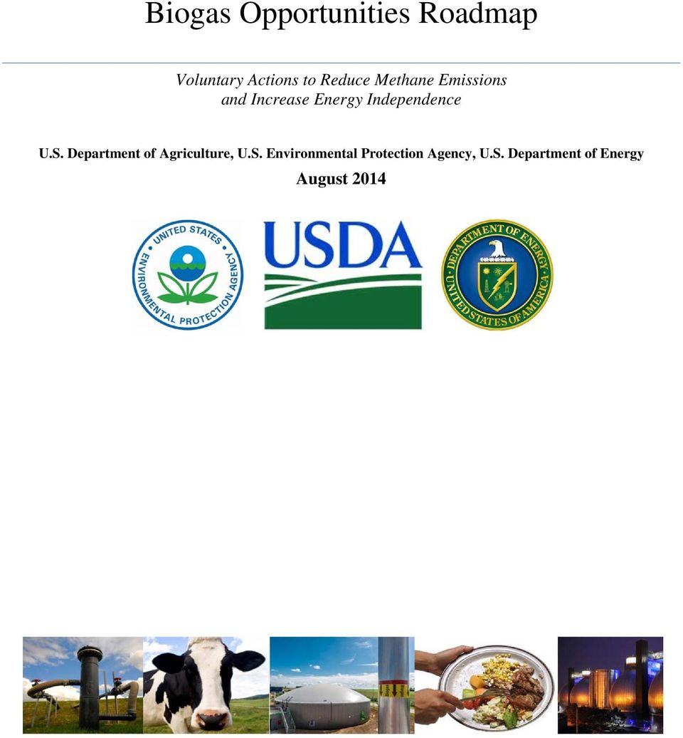 Independence U.S. Department of Agriculture, U.S. Environmental Protection Agency, U.