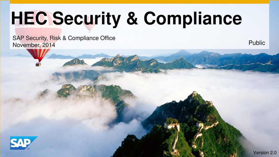 Risk & Compliance Office