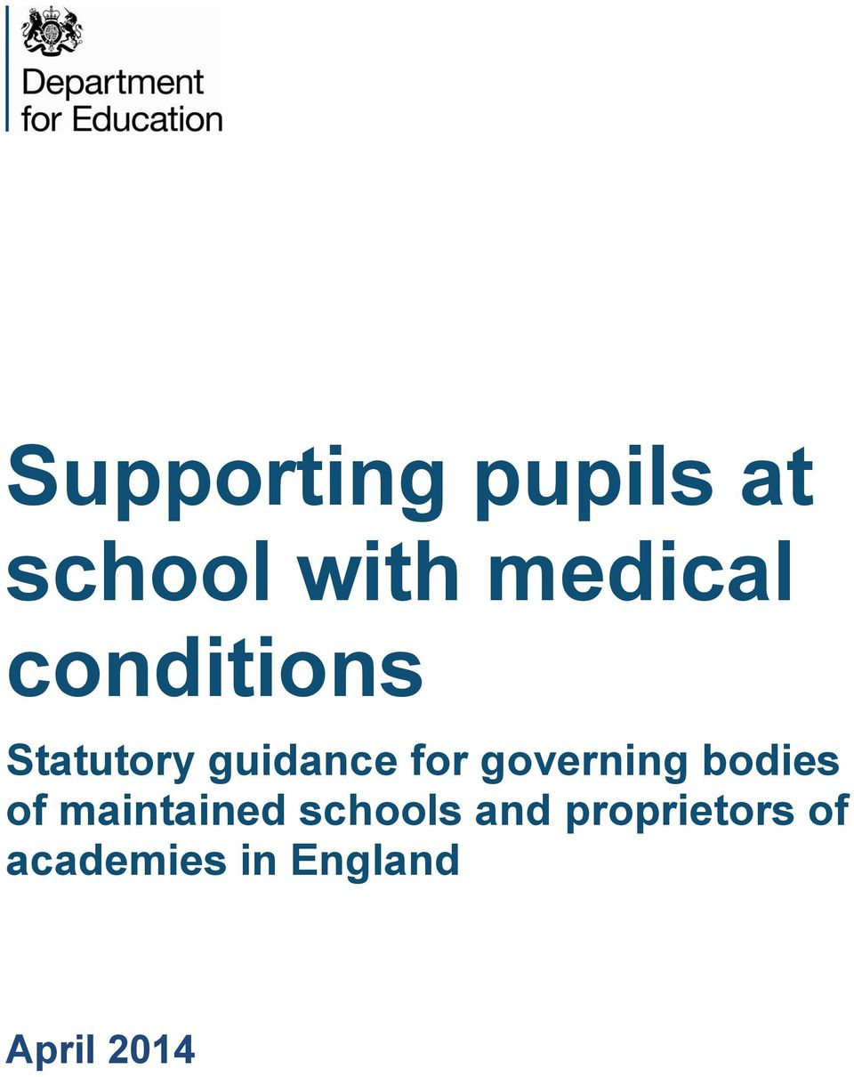 governing bodies of maintained schools