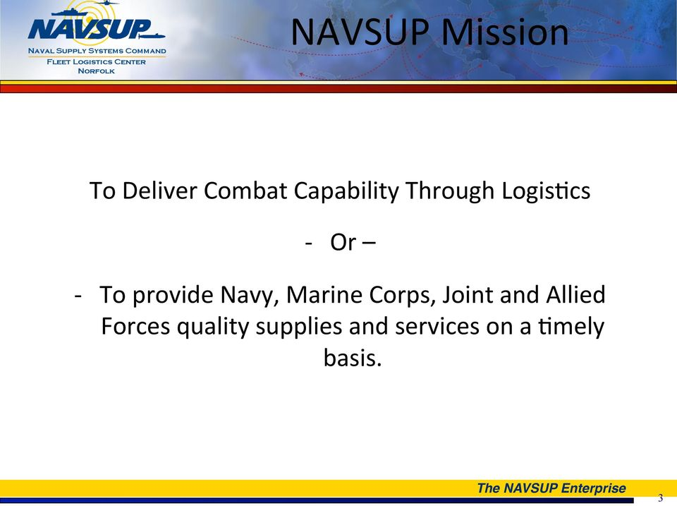 provide Navy, Marine Corps, Joint and