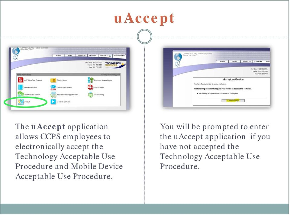 Mobile Device Acceptable Use Procedure.
