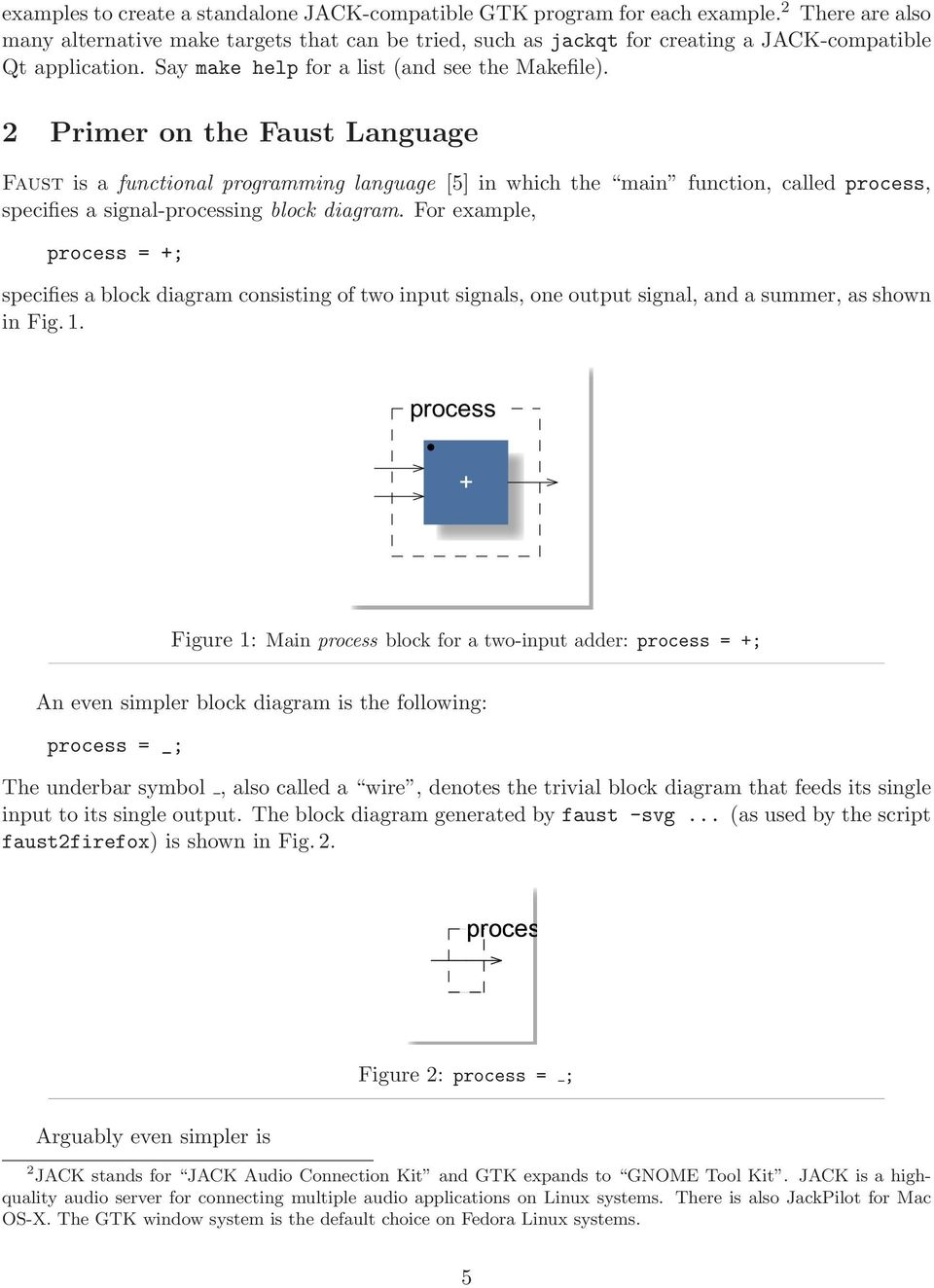 Audio Signal Processing In Faust Pdf Example Of Block Diagram 2 Primer On The Language Is A Functional Programming 5