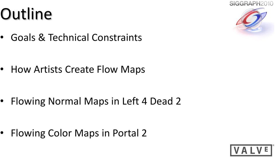 Flow Maps Flowing Normal Maps in