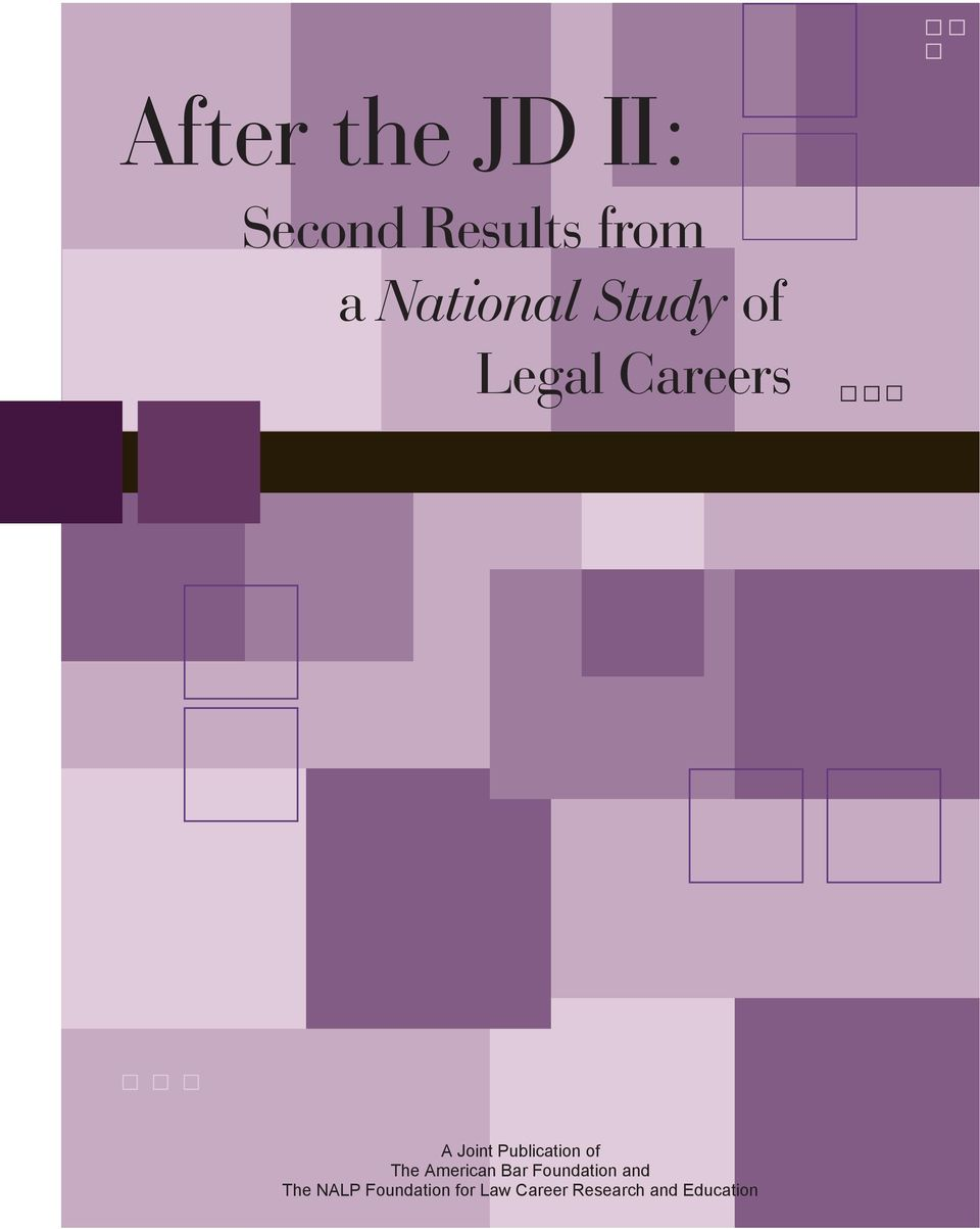 Publication of The American Bar Foundation