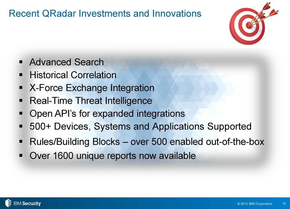 expanded integrations 500+ Devices, Systems and Applications Supported
