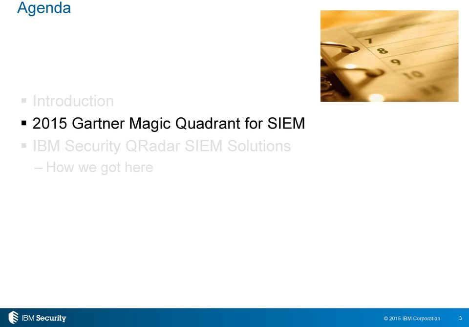 SIEM IBM Security QRadar