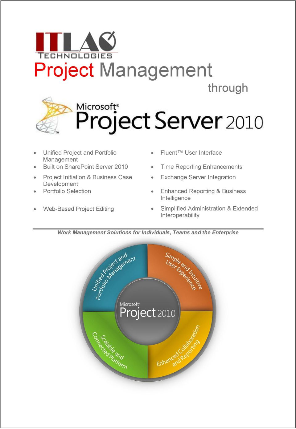 Integration Development Portfolio Selection Enhanced Reporting & Business Intelligence Web-Based Project