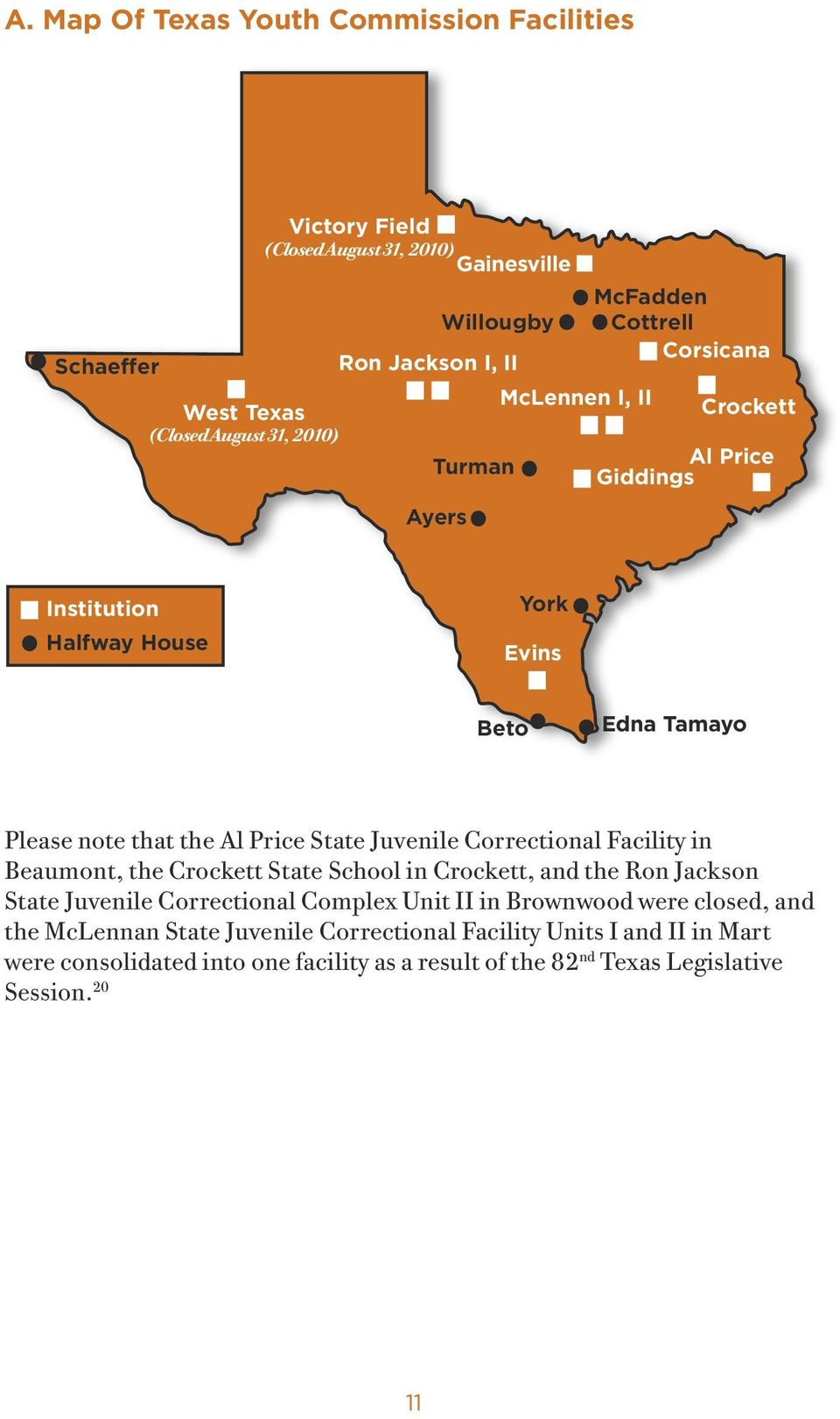 The State Of Juvenile Justice In Texas Pdf