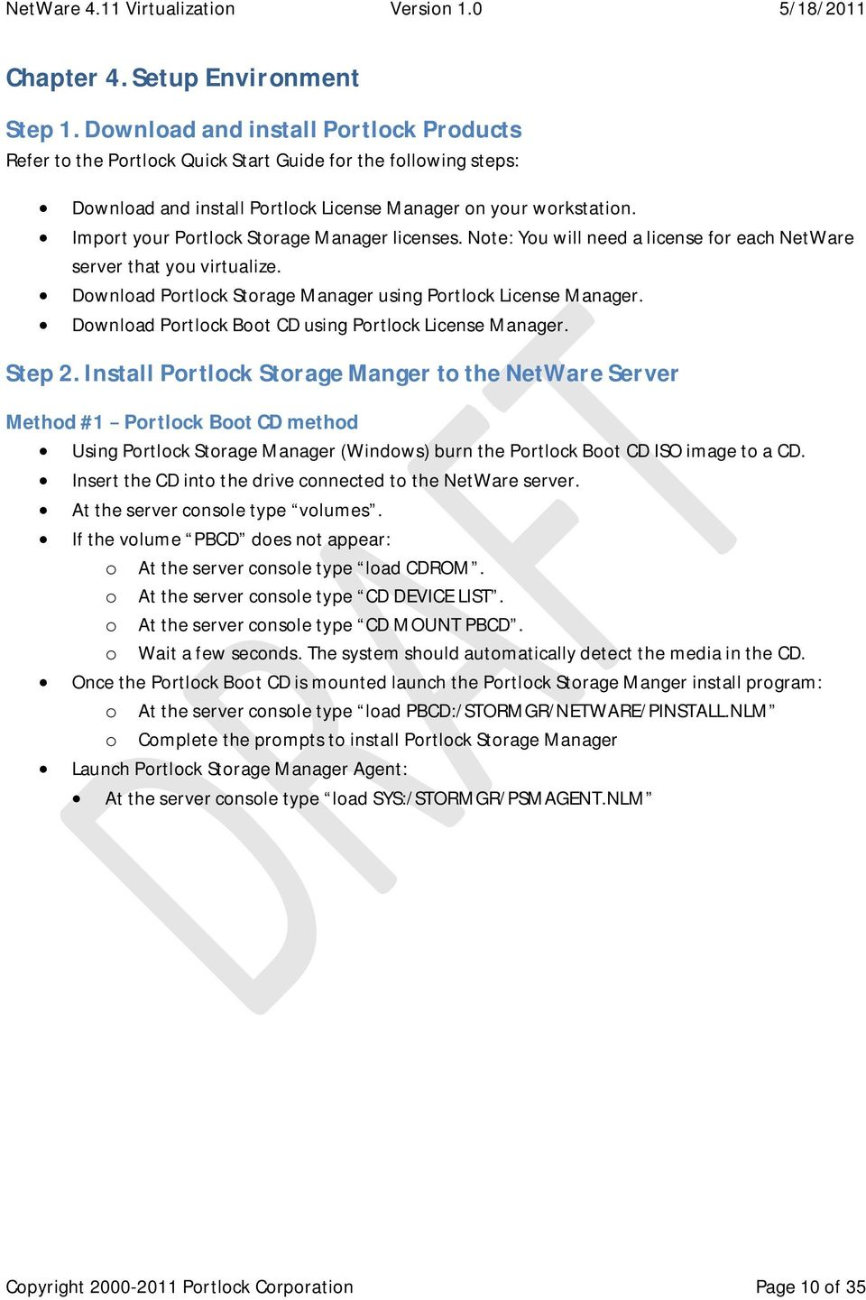 Download Portlock Boot CD using Portlock License Manager. Step2.
