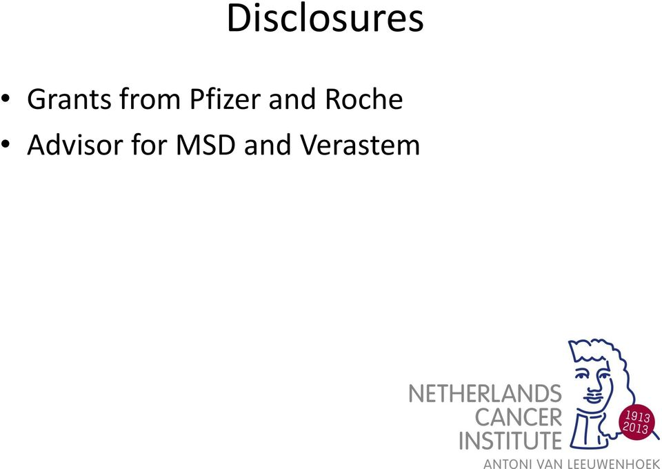 Pfizer and Roche
