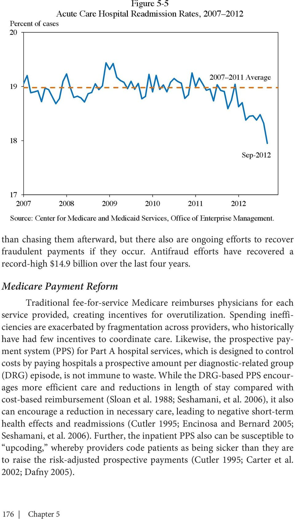 9 billion over the last four years. Medicare Payment Reform Traditional fee-for-service Medicare reimburses physicians for each service provided, creating incentives for overutilization.