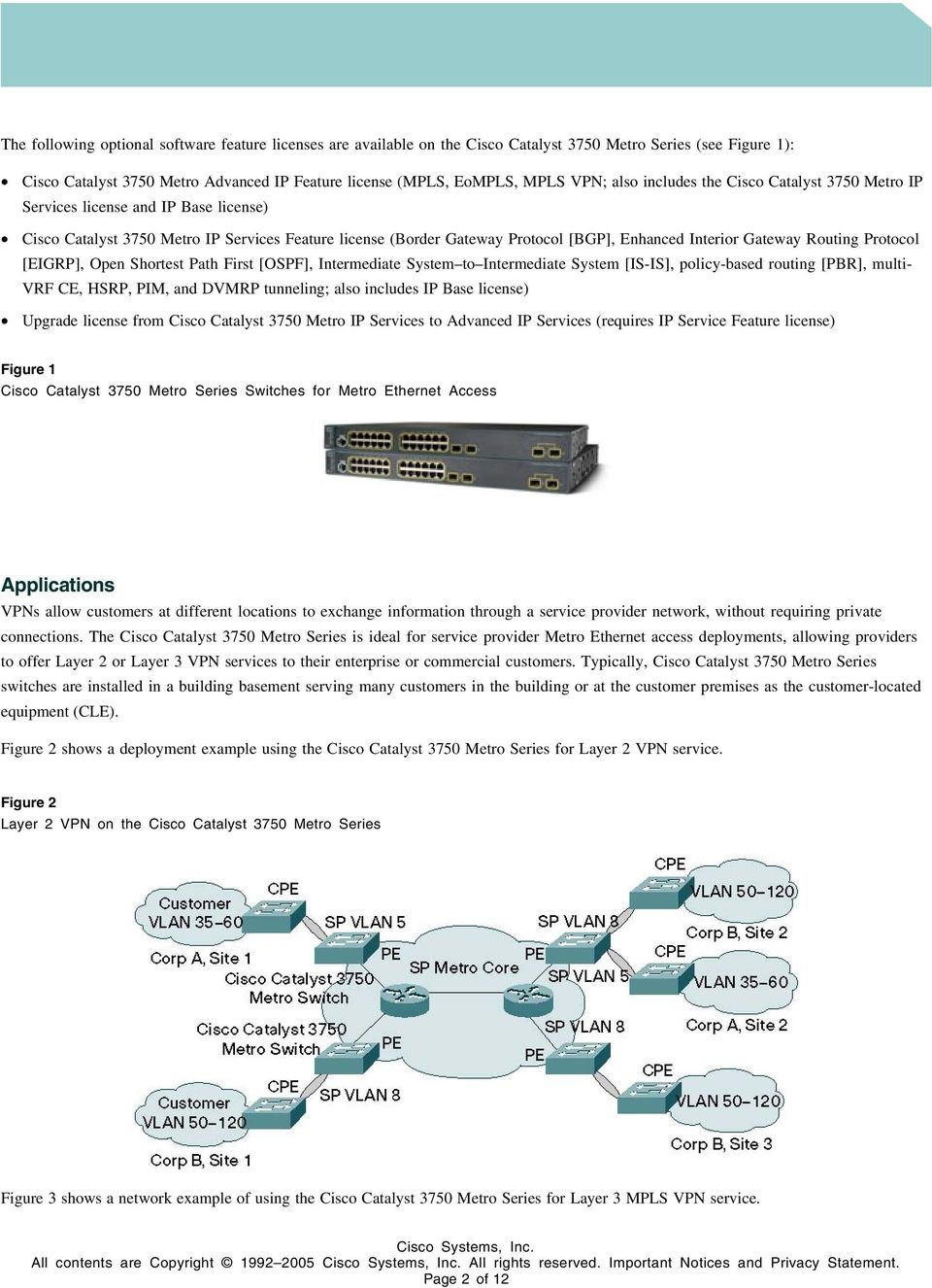 Routing Protocol [EIGRP], Open Shortest Path First [OSPF], Intermediate System to Intermediate System [IS-IS], policy-based routing [PBR], multi- VRF CE, HSRP, PIM, and DVMRP tunneling; also includes
