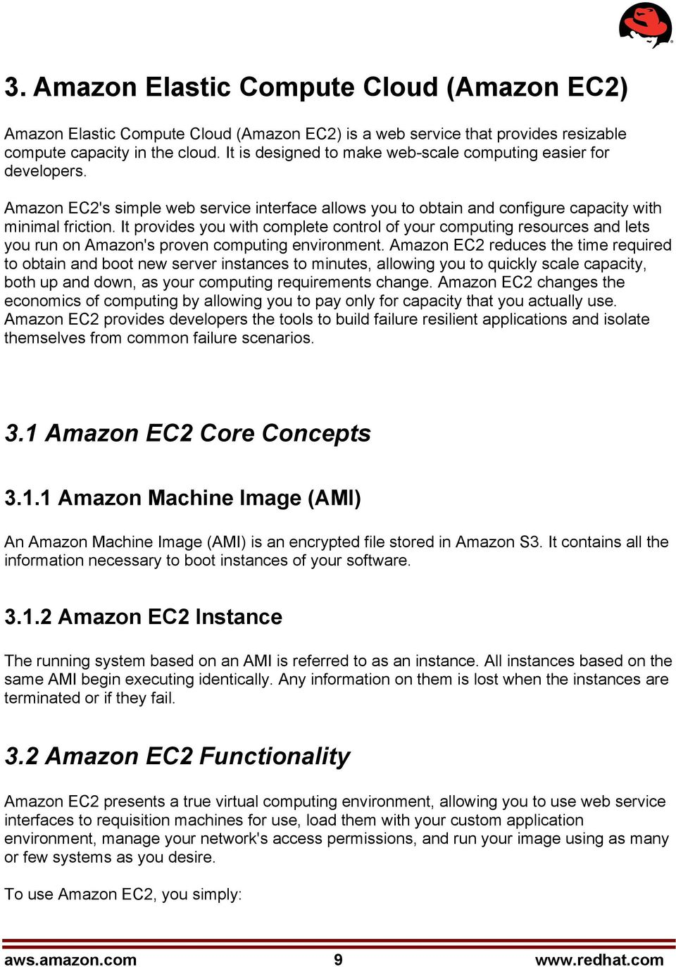 Getting Started with Cloud Computing: Amazon EC2 on Red Hat