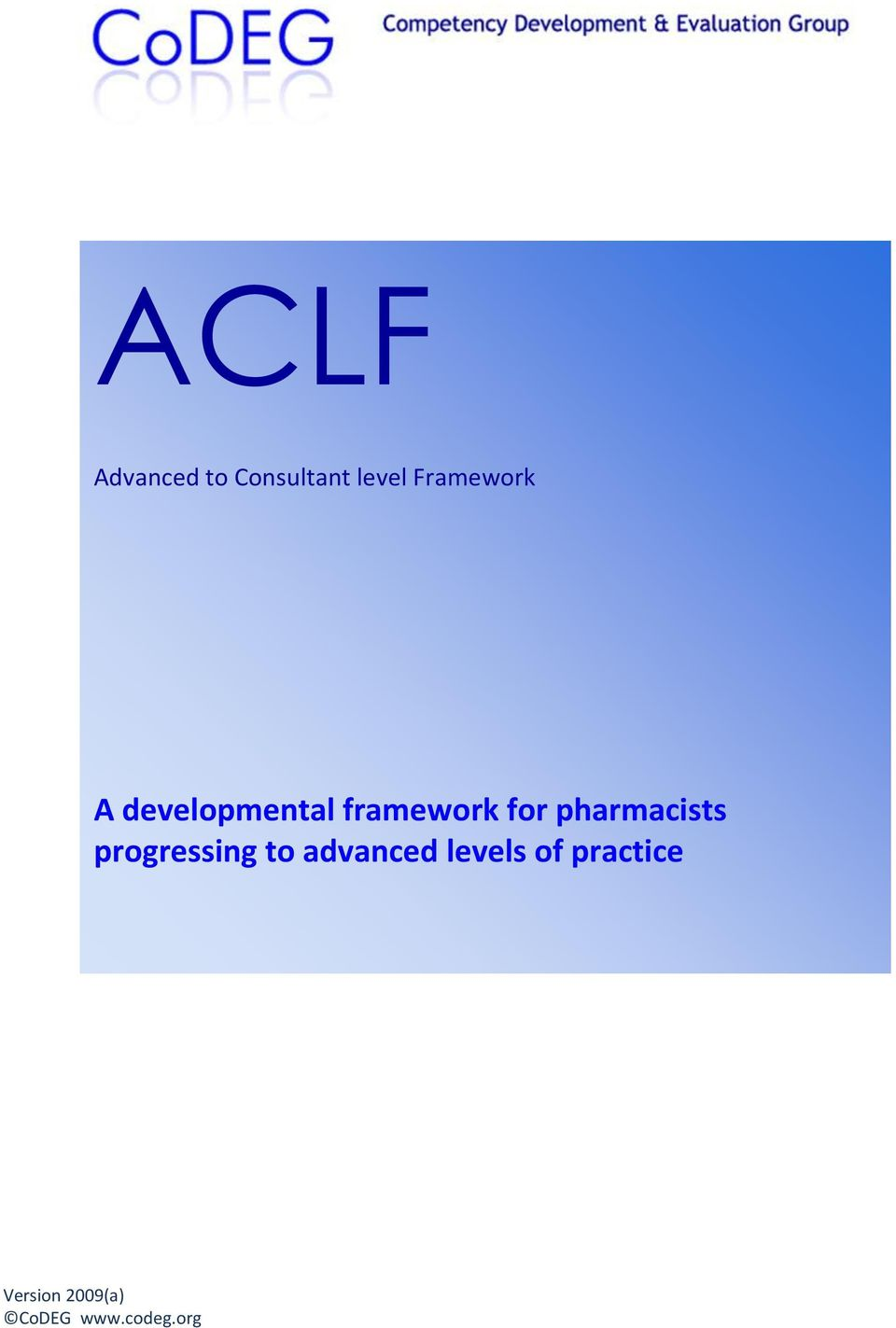 pharmacists progressing to advanced
