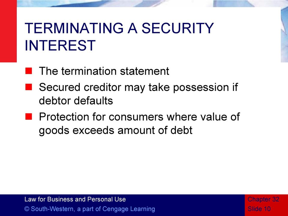Protection for consumers where value of goods exceeds